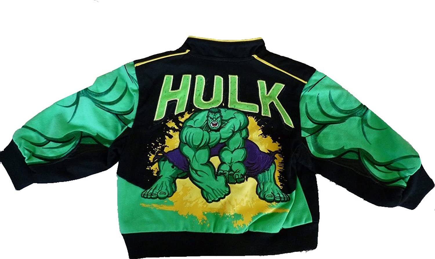 Amazon.com: JH Design Kids HULK Twill Jacket - I am angry size 2T: Clothing