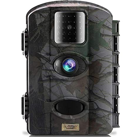 a5adc86869659 ARTITAN Trail Camera 12MP Game Hunting Cam Motion Activated Night Vision  65ft/20m No Glow IR LEDs IP65 Waterproof for Wildlife Scounting Home  Security ...