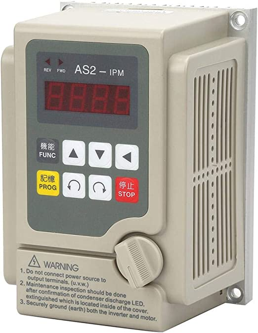 VFD Inverter Frequency Converter Power Inverter 110V 0.75KW 7A Single Phase Input 3 Phase Output