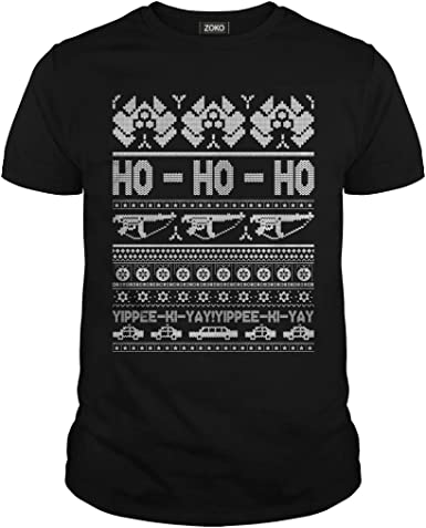 Zoko Apparel Ho Ho Funny Christmas T-Shirt
