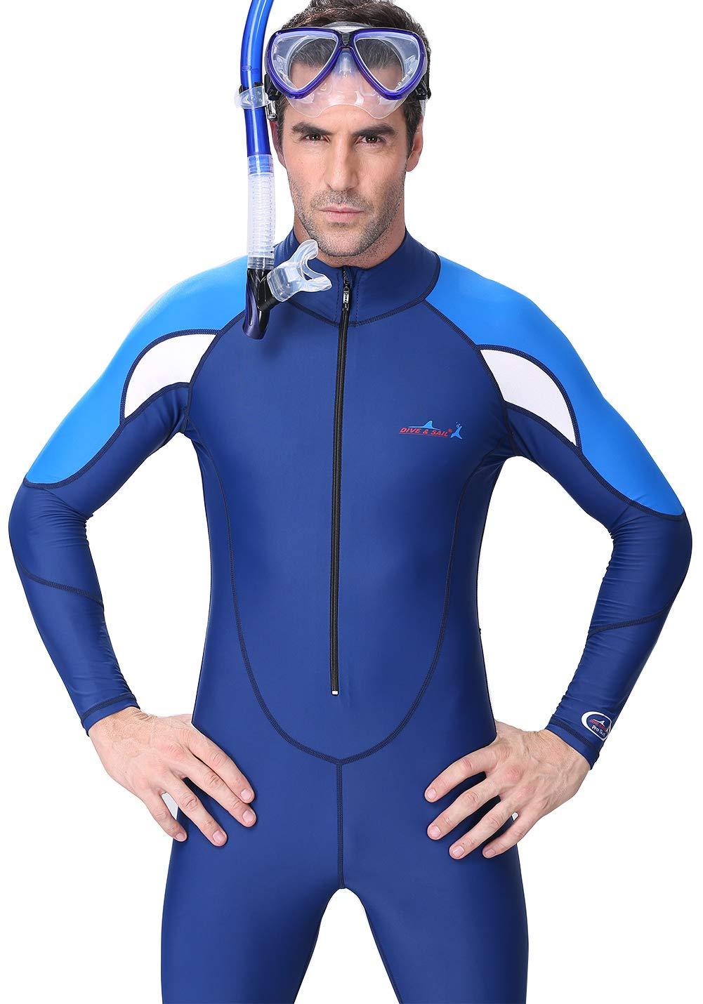 UV Protection Fast Dry Dive Skin Suit DIVE/&SAIL Men Full Body Westuit UPF 50