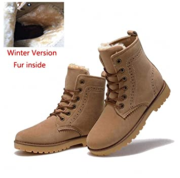 a9c6e40a1ed1a Amazon.com: Tebapi Mens Backpacking Boots Fashion Winter Shoes for ...