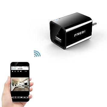 FREDI Mini WiFi Cámara Espía/Oculta/HD 1080p /Admite Tarjeta de 128G(no Incluye) Detección de Movimiento Cámara vigilancia Camara IP: Amazon.es: Electrónica