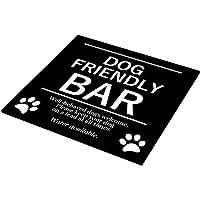 Elegante y audaz barra para perros, ideal