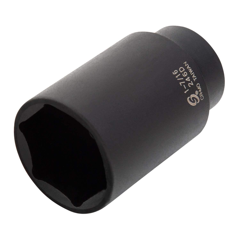 Sunex 246D 1//2-Inch Drive 1-7//16-Inch Deep Impact Socket