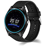 Huaker Smart Watch-Touch Screen Smart Wrist Watch SIM Card Slot Camera Sport Fitness Compatible