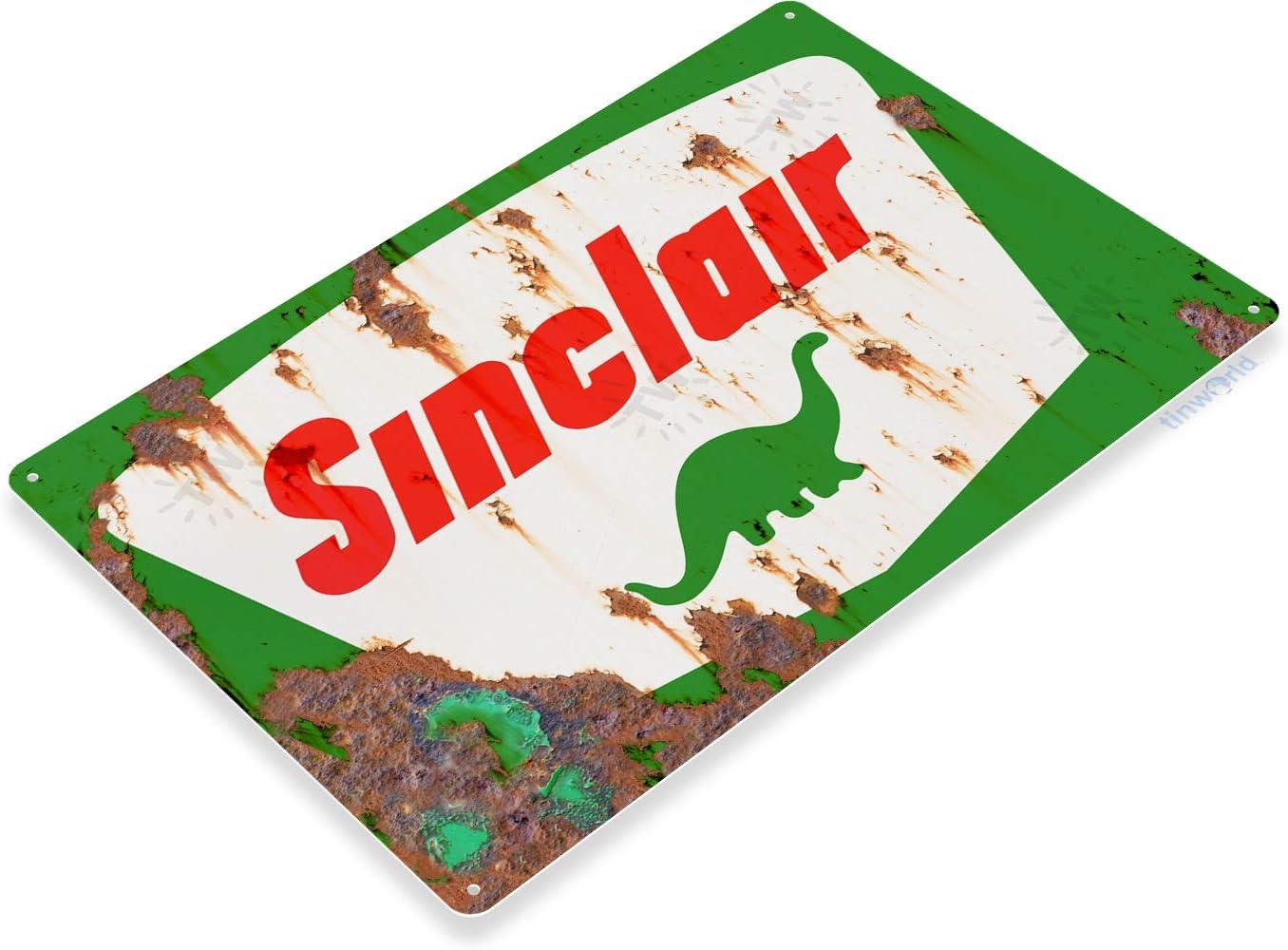 "Sinclair Opalin Motor Oil 12/"" Vintage Style Metal Signs Gas Pump Garage Man Cave"