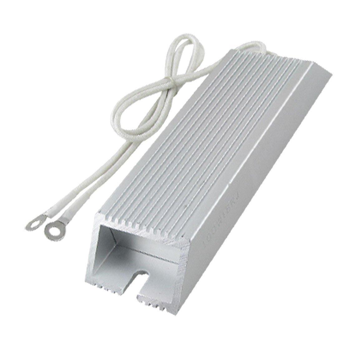 DealMux Aluminum Housing Wirewound Braking Resistor 100W 18 ohm