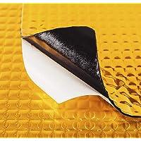 Feng Placas insonorizantes Cola de Oro/Blanco para automóviles