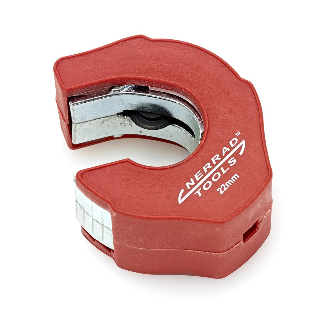 Nerrad Tools NT3022 Ratchet Action Copper Tube Cutter, Red/Silver, 22 mm Nerrad Limited