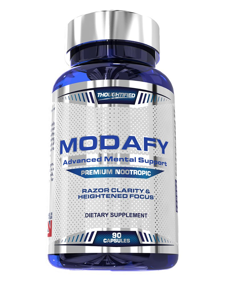 Modafy - NEW Premium Nootropic Brain Stack For Clarity, Energy, Concentration & Focus