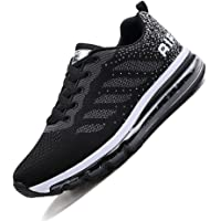 Monrinda Womens Mens Trainers Air Shock Absorbing Running Shoes Breathable Outdoor Fitness Athletic Jogging Sport Sneakers