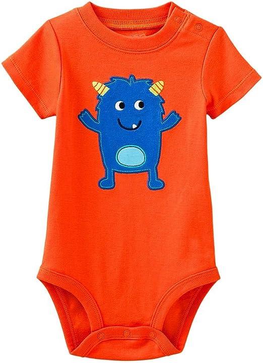HAGY MID Toddler Baby GirlsSleepwear Infant Cotton Romper Cartoon Long Sleeve Bodysuits