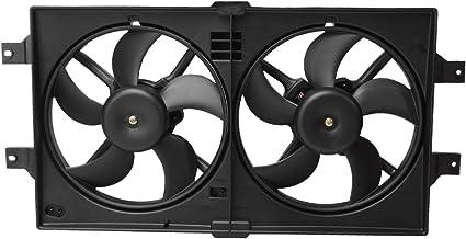 Topacio 4596402 AA Radiador de refrigeración ventilador Motor ...