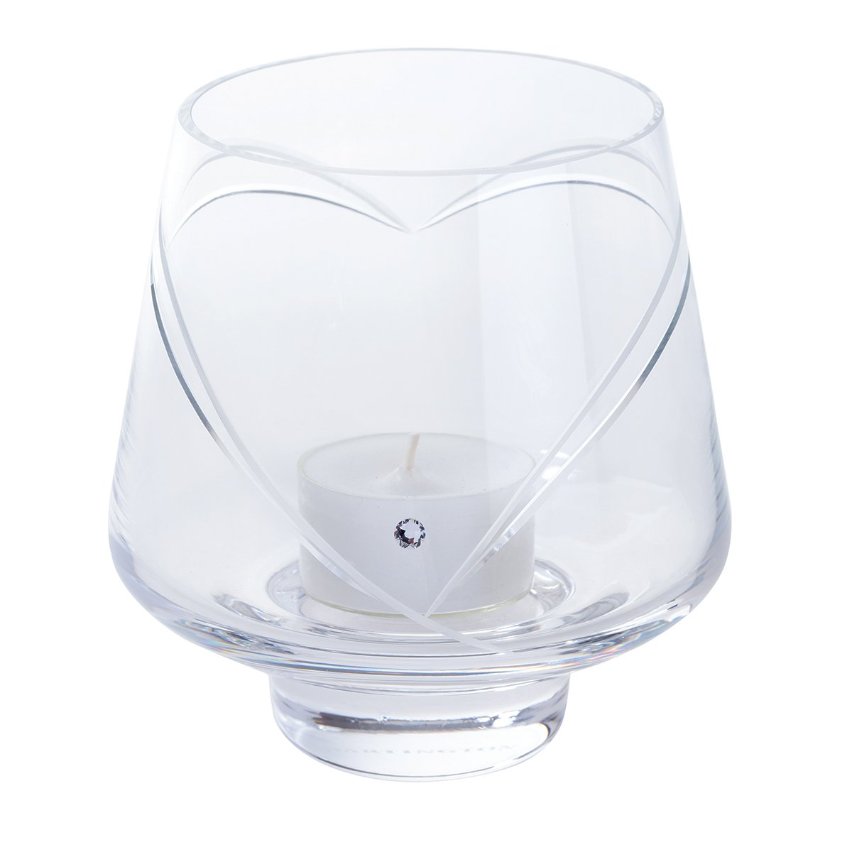 Dartington Crystal Romance Votive, Clear LG3140