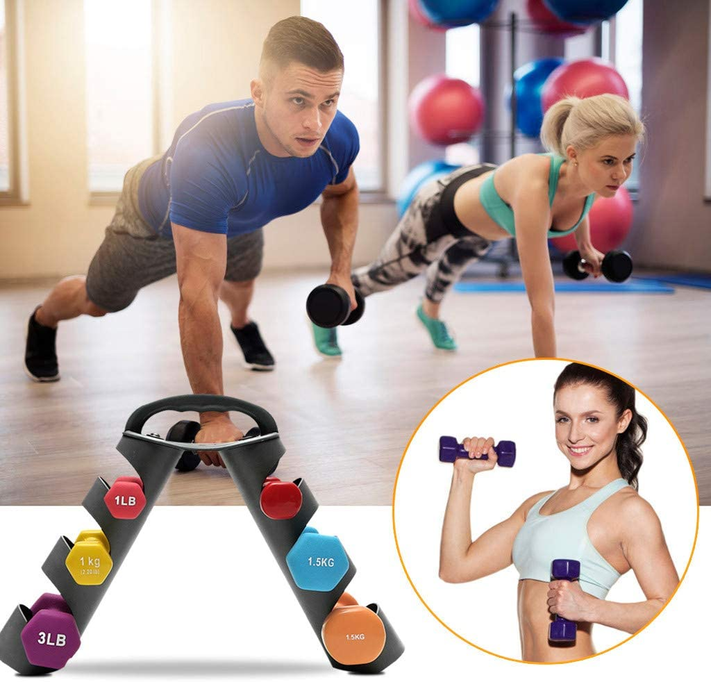3 Tier Dumbbell Storage Rack Stand for Home Gym Weight Organization GUbaliYA Dumbbell Rack