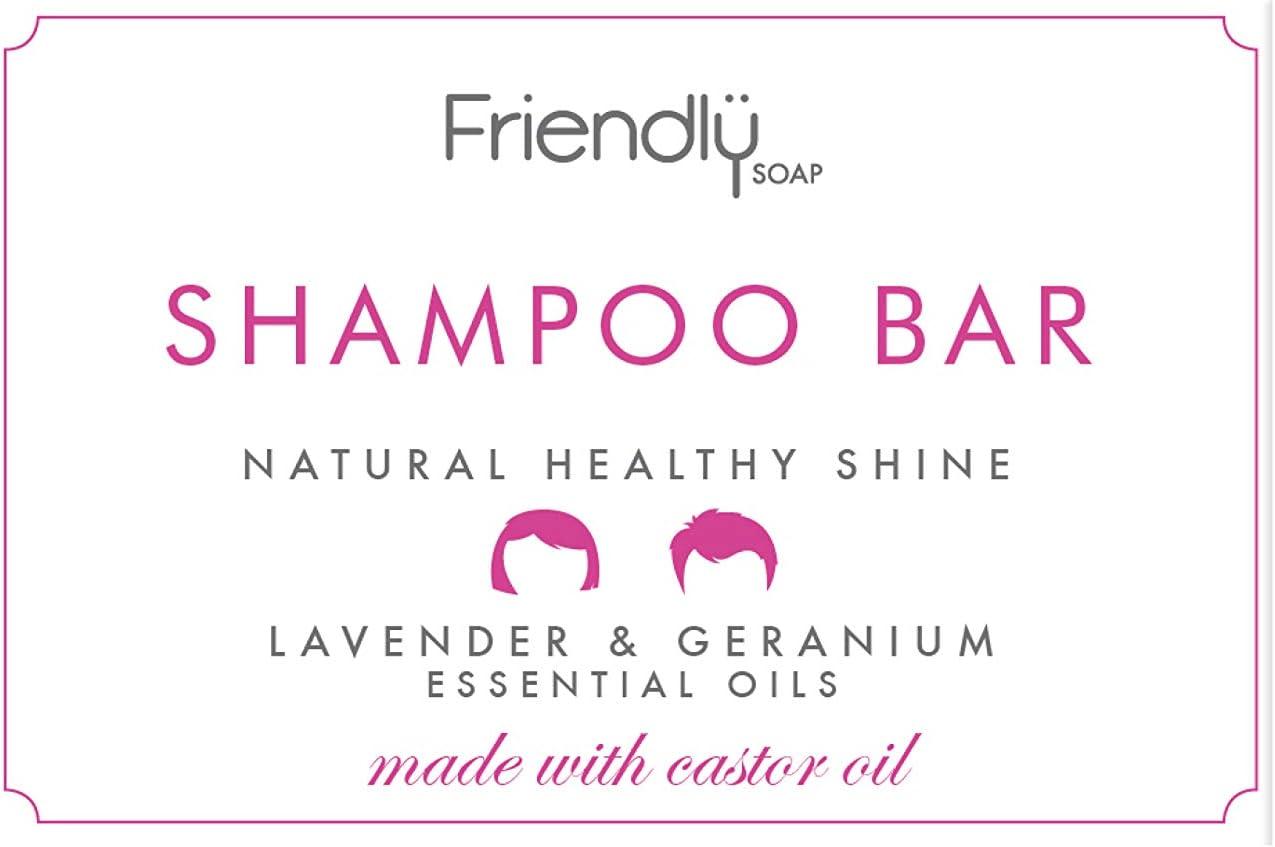 Friendly Soap Lavender and Geranium Natural Shampoo Bar (Case of 6)