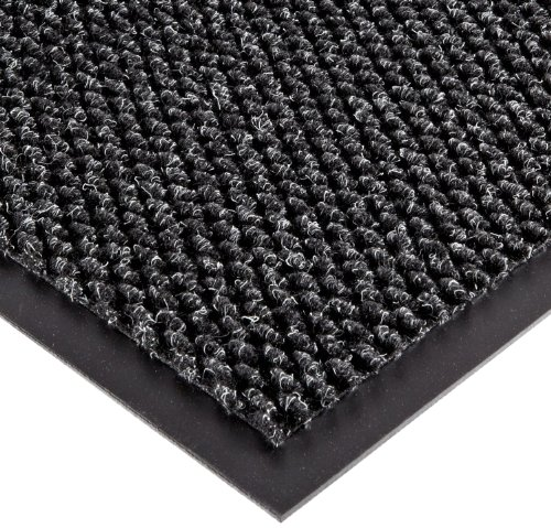 Entrance Matting - Superior Manufacturing Group 136S0035CH Entrance Matting 3 Ft x 5 Ft Charcoal Polynib