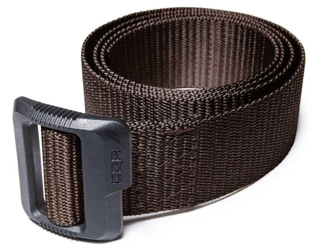 CQR CQ-MZT01-BRN_M(w32-34) Tactical Belt 100% Full Refund Assurance Nylon Webbing EDC Duty 1.5'' Belt MZT01 by CQR (Image #3)