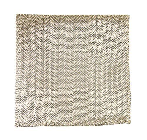 Herringbone Silk Pocket Square - 2