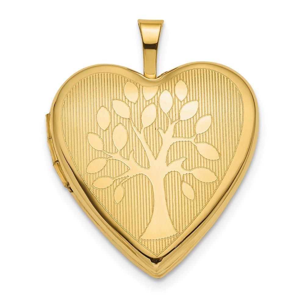 Top 10 Jewelry Gift 14K 20mm Tree Heart Locket