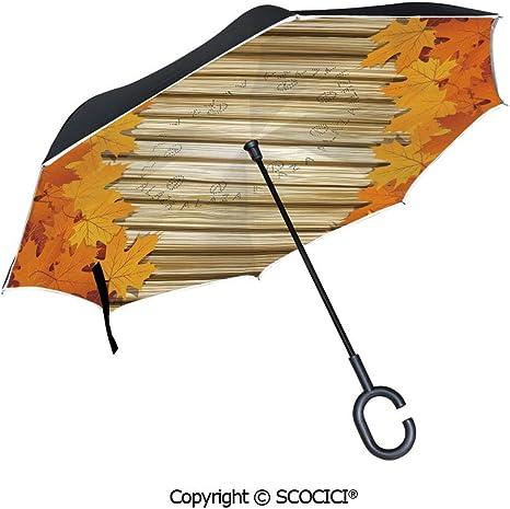 SCOCICI Paraguas invertido invertido hacia afuera – Ilustración de ...