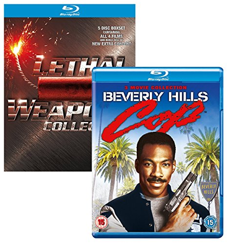 Lethal Weapon - Beverly Hills Cop - 2 Movie Box Set Bundling Blu-ray