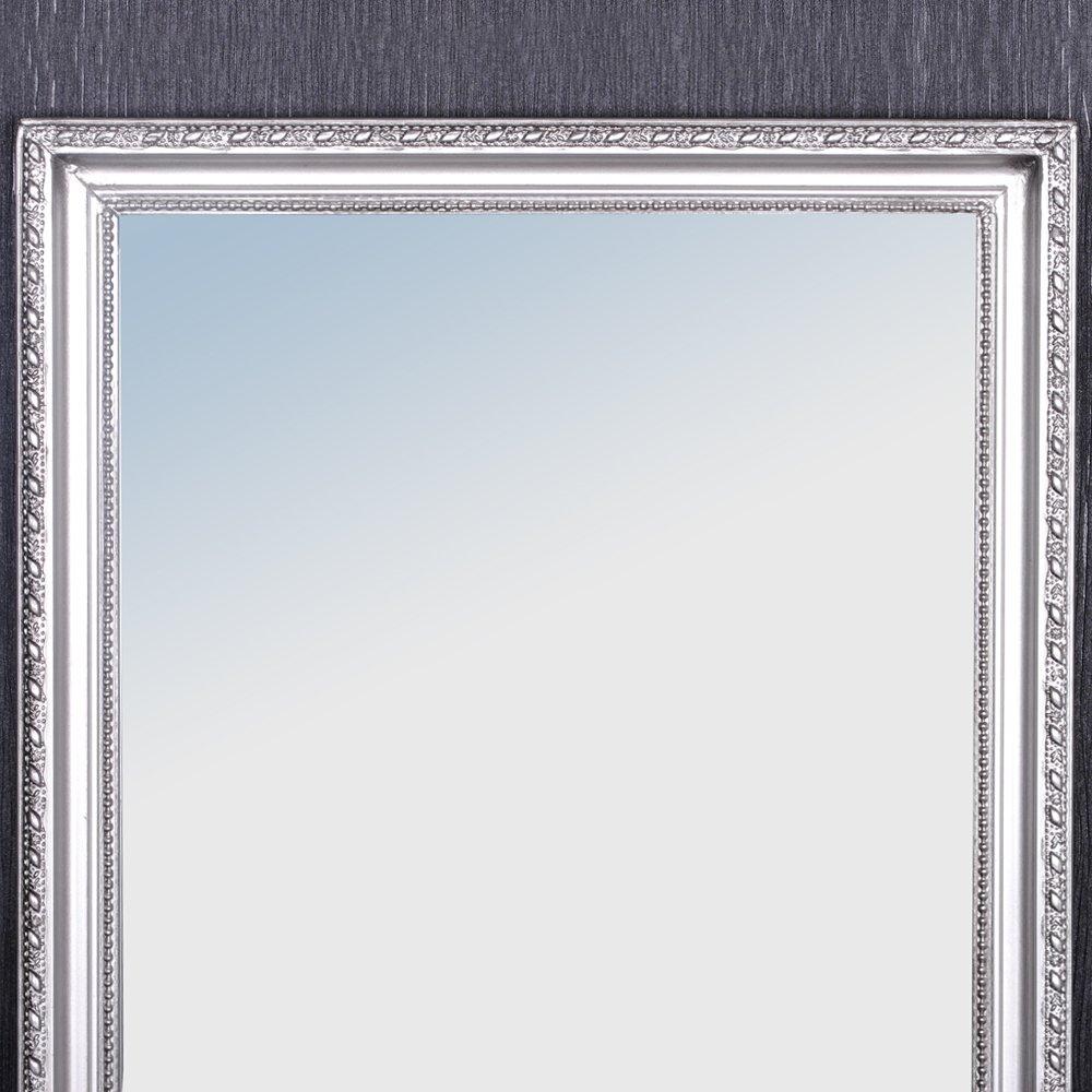 Wandspiegel barock silber antik holzrahmen spiegel 150x40cm ...