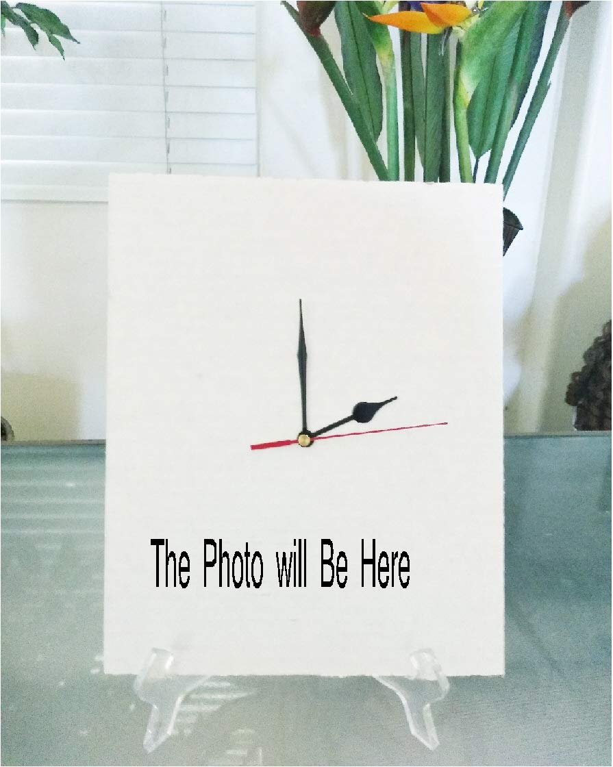 11x14 Clock Photo -No Image is Cropped Pamela Anderson 8x10 No white or black borders What you see is what you get Canvas Matted PA21