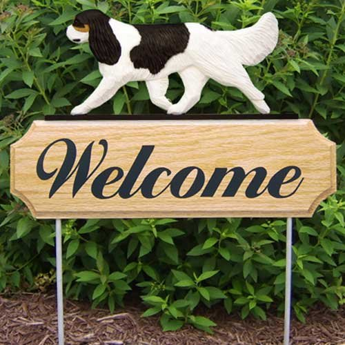 Spaniel Welcome Sign - 8