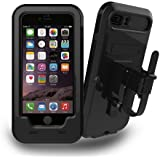 iPhone 7/7 Plus Bike Mount, JEMACHE Bicycle/Motorcycle Waterproof Case for iPhone 6/6S/7, iPhone 7 Plus Support Fingerprint Recognition with Handlebar Mount
