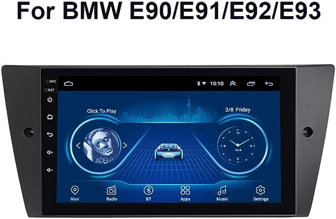 Dr Lefran Autoradio Mediensystem 9 Zoll Touchscreen Android 9 0 Car Multimedia Player Für Bmw E90 E91 E92 E93 Radio Bluetooth Wifi Gps Fm Radio 4g Wifi 1g 32g Sport Freizeit