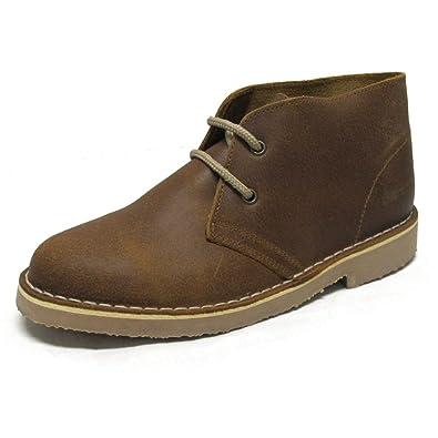 Roamers - Damen Desert-Boots - Veloursleder - Braun - UK6/EU39-40 laYBAv4sOf