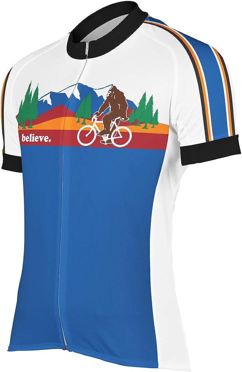 Peak 1 Sports Bigfoot Mens Cycling Jersey