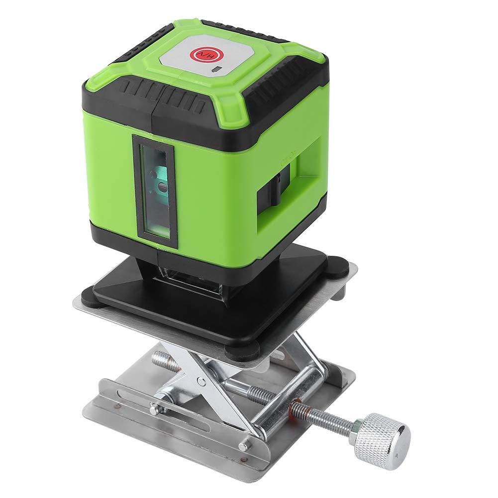 Niveau laser, Akozon 5 Lignes Niveaux Laser Horizontal et Verticale avec Plate-forme de Levage Dé dié e (Vert) Akozon 5 Lignes Niveaux Laser Horizontal et Verticale avec Plate-forme de Levage Dédiée (Vert)