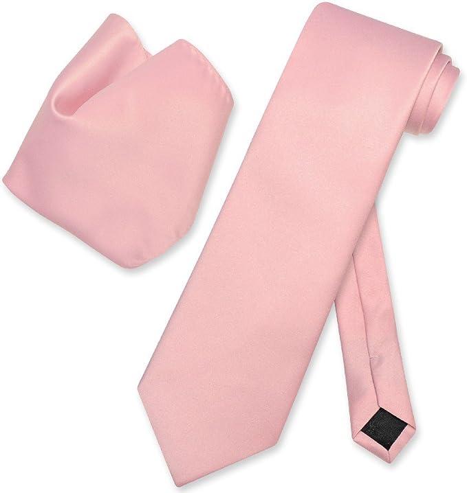 MISAZ 2 Pieces Ties For Men Polyester Silk Necktie Solid Color Slim Tie Black