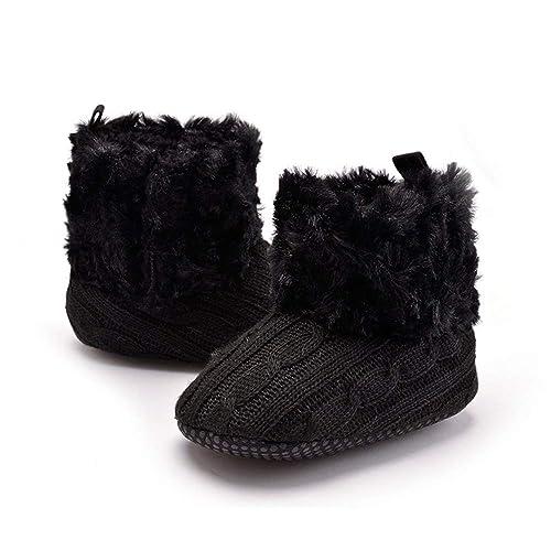 81af2c6ed0369 MZjJPN Childish Soft Fleece Winter Boots for Newborn Boys Girls ...