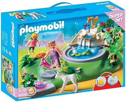 PLAYMOBIL 626561 - Superset Jardín con Hadas: Amazon.es: Juguetes y juegos