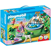 Playmobil - 4008 - Jeu de construction - Superset Fées et fontaine enchantée