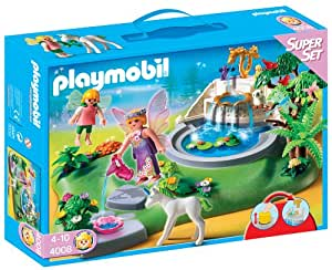 Playmobil 626561 - Superset Jardín Con Hadas