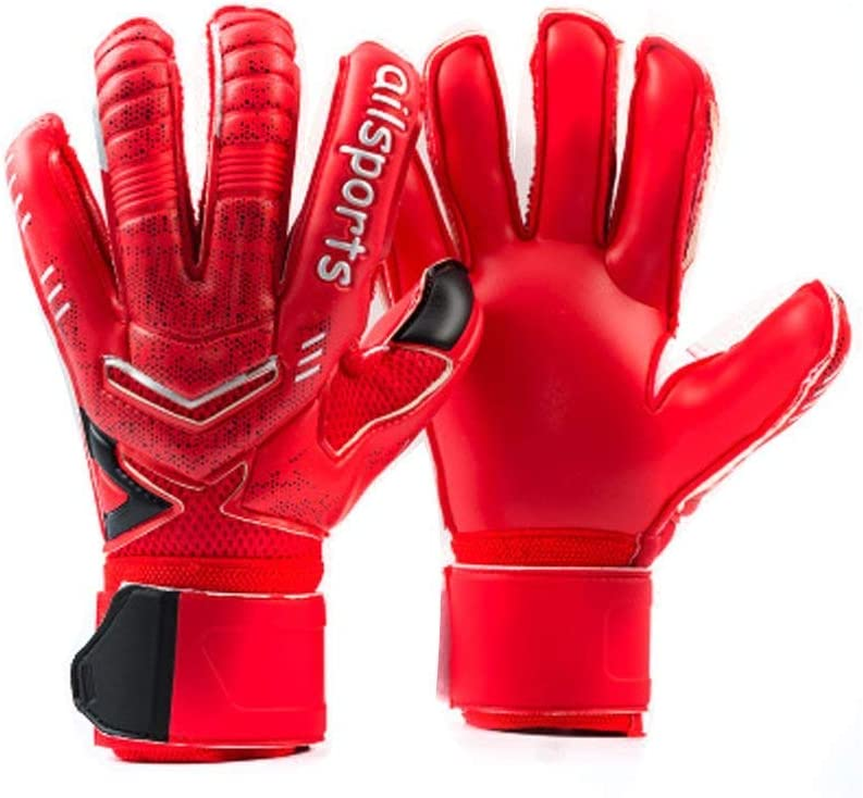 Coodoo Goalkeeper Goalie Soccer Gloves with Fingersave, Strong Grip for The Toughest Saves, Kids Youth Adults Keeper Gloves for Training and Match, Men and Women : Sports & Outdoors