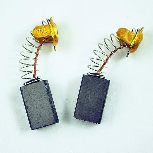 Sodial R 2 Stueck 7mm X 11mm X 18mm Elektrische Motor Kohlebuersten