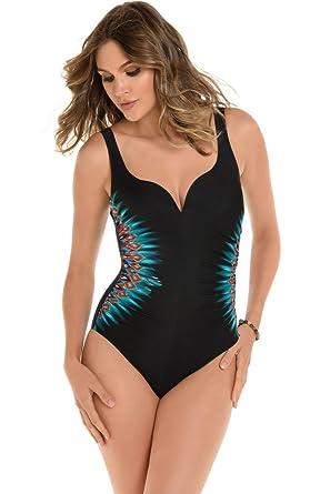 f421d5696e995 Amazon.com: Miraclesuit Casbah DD-Cup Temptress One Piece Swimsuit ...