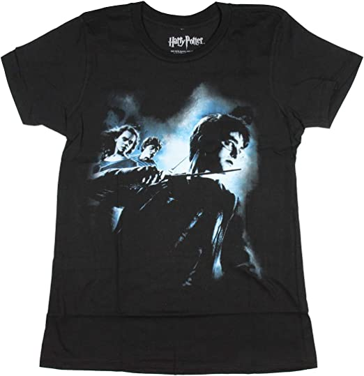 Harry Potter Hermione Ron Foto Big Boys T-Camisa (X-Small ...
