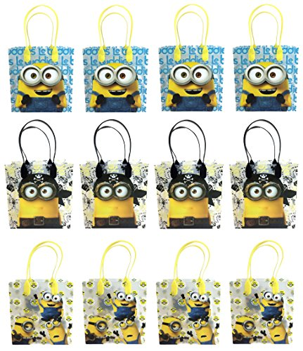 Universal Studios Minions 2015 Despicable Party Gift Bag (Set of 12) -