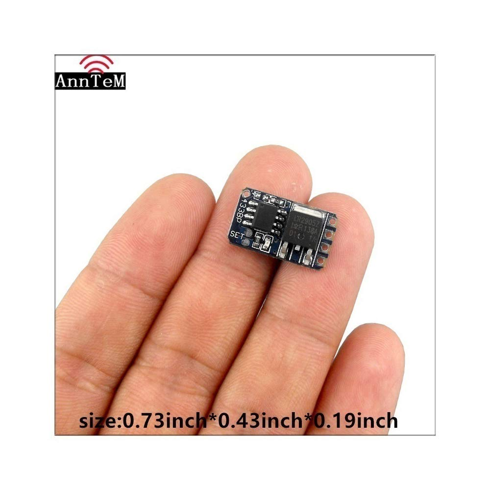 Anntem 433mhz RF Wireless Remote Control Switch MOS Circuit Micro Controller Mini Small Switch Module dc3.5v 3.7v 9v 12v Battery Power Mini Small Switch Receiver on Off Switching