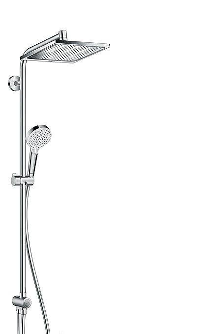 Hansgrohe Colonne De Douche Showerpipe Crometta E 240 Sans Robinetterie Pour Baignoire Ecosmart Chrome 27289000