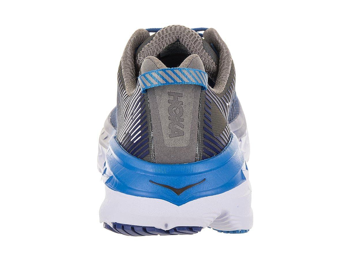 Hoka One One One One Bondi 5 Charcoal grau True Blau 45 6076a8