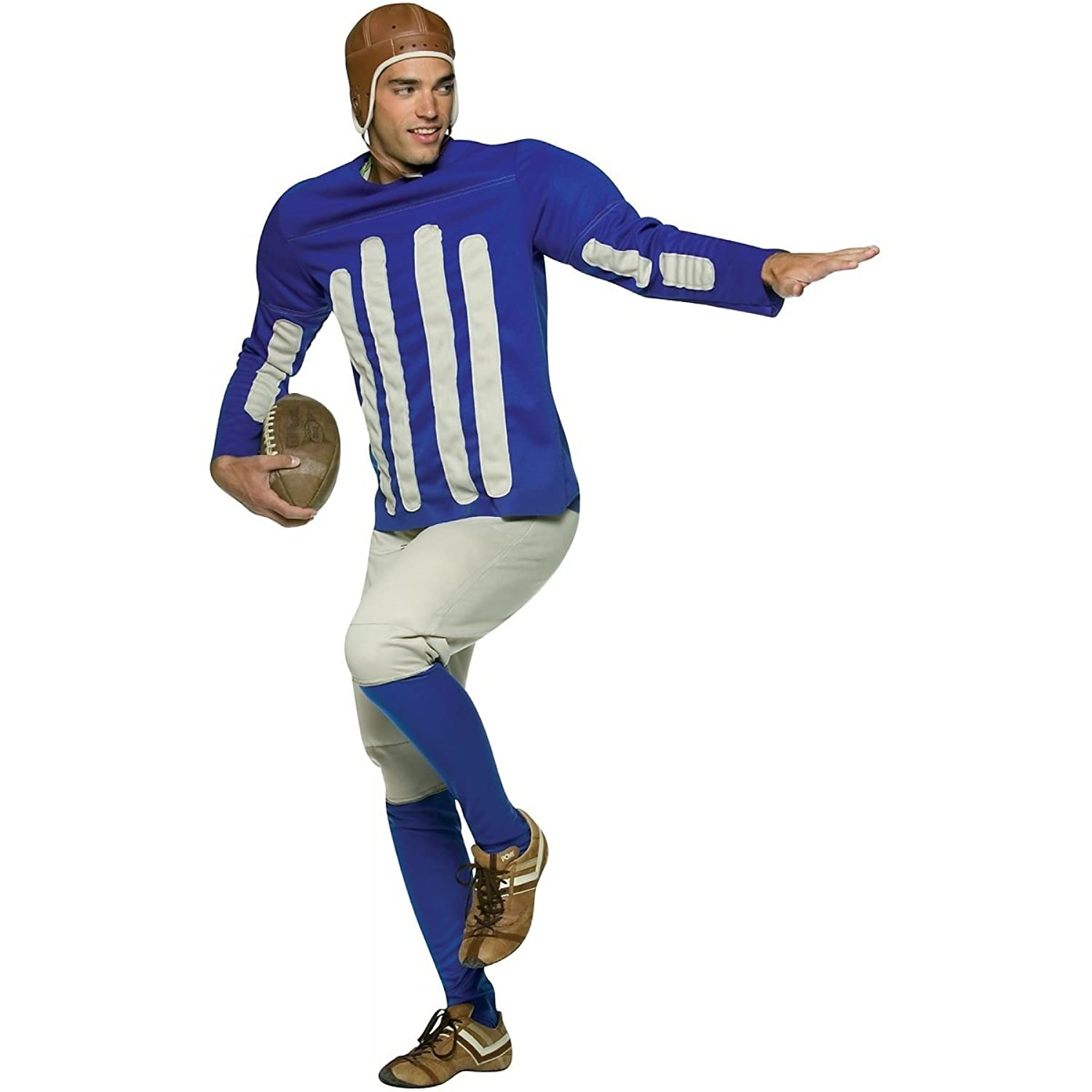 Amazon.com: Old Tyme Football Player Costume - One Size - Chest Size 48-52:  Clothing - Amazon.com: Old Tyme Football Player Costume - One Size - Chest