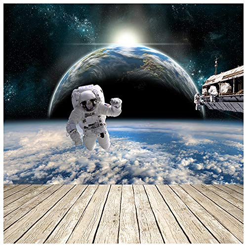Astronauts Nasa Space Station Earth Science Wall Mural Photo Wallpaper Available In 8 Sizes X Large Digital